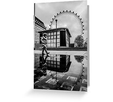 London reflections Greeting Card