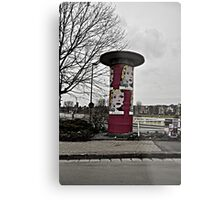 Advertising on the Streets Metal Print