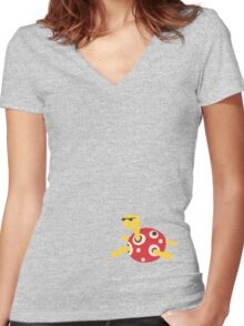 Cool Shuckle Women's Fitted V-Neck T-Shirt