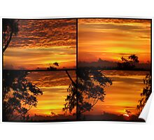 """Sunrise Collage"" Poster"