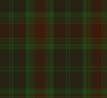 00302 Carlow County District Tartan  Sticker