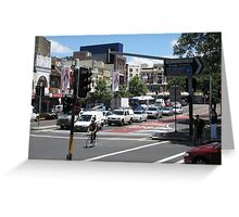 Towards Taylor Square Greeting Card