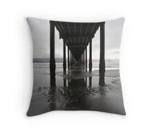 Tidepools Down Under Throw Pillow