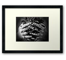 Distress Framed Print