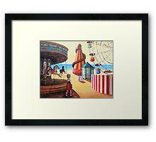 Vintage Funfair Framed Print