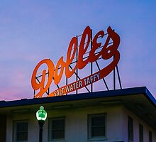 Dolles Sign at the Boardwalk by Chee Sim