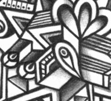 Design 043s1 - by Kit Clock Sticker
