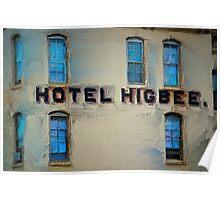 Hotel Higbee Poster