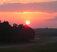 Sunrise over Roto by Kevin Hubbard
