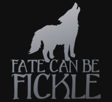 FATE CAN BE FICKLE with howling wolf by jazzydevil
