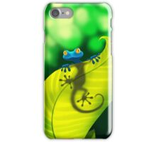 Blue Gecko iPhone Case/Skin