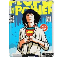 Power To The People iPad Case/Skin