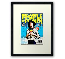 Power To The People Framed Print