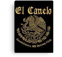 EL Canelo Club Canvas Print