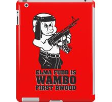 Elmer Fudd is Wambo First Bwood iPad Case/Skin