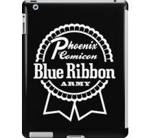 White Bra Logo on black iPad Case/Skin