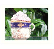 cup of cake! Art Print