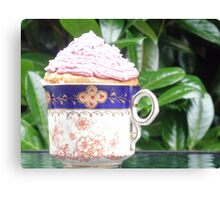 cup of cake! Canvas Print