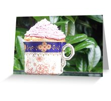 cup of cake! Greeting Card