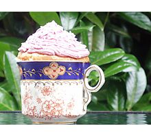 cup of cake! Photographic Print