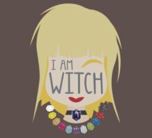 I AM WITCH blonde girl with Black Jewels Jaenelle by jazzydevil