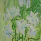Lily Stems by Susan Duffey