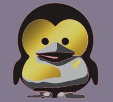 Linux Baby Tux d'Or Kids Clothes