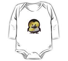 Linux Baby Tux d'Or One Piece - Long Sleeve