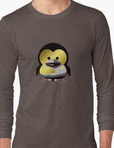 Linux Baby Tux d'Or Long Sleeve T-Shirt