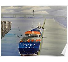 Trinity Long Line Fishing Trawler out San Remo Poster