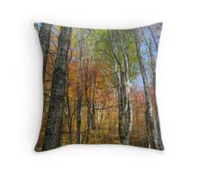 Autumn bliss Throw Pillow