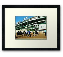 Baseball Dream Framed Print