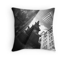 Holga NYU Throw Pillow
