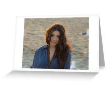 Tina @ Sunset Greeting Card