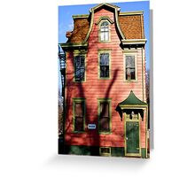 VICTORIAN HOUSE Greeting Card
