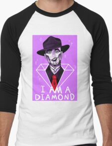 I Am A Diamond Men's Baseball ¾ T-Shirt