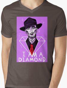 I Am A Diamond Mens V-Neck T-Shirt