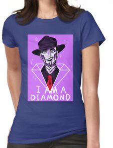 I Am A Diamond Womens Fitted T-Shirt