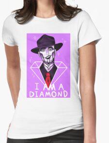 I Am A Diamond Womens Fitted T-Shirt