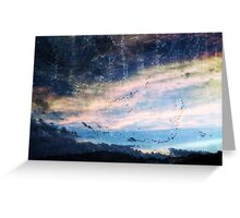 fantasy skies Greeting Card