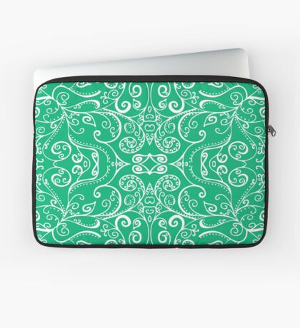 Silent Era, Green Laptop Sleeve