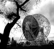 RADIO TELESCOPE DISH by gothgirl