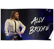 ALLY PERFORMING 2.0 Poster