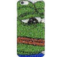 Sad Pepe Collage iPhone Case/Skin
