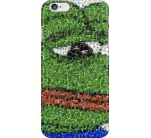 Sad Pepe Collage iPhone Case/Skin