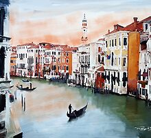 Water ways of Venice by Lightrace