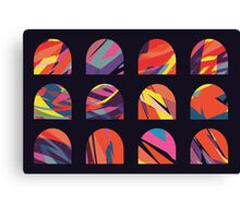 Multicoloured domes Canvas Print
