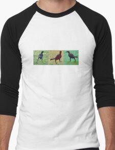 WE THREE BLACKBIRDS Men's Baseball ¾ T-Shirt
