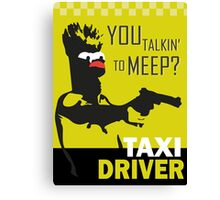 beeker  vs taxidriver Canvas Print