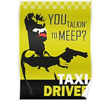 beeker  vs taxidriver Poster